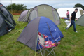 Fr. David's tent at The Youth Pilgrimage, Walsingham